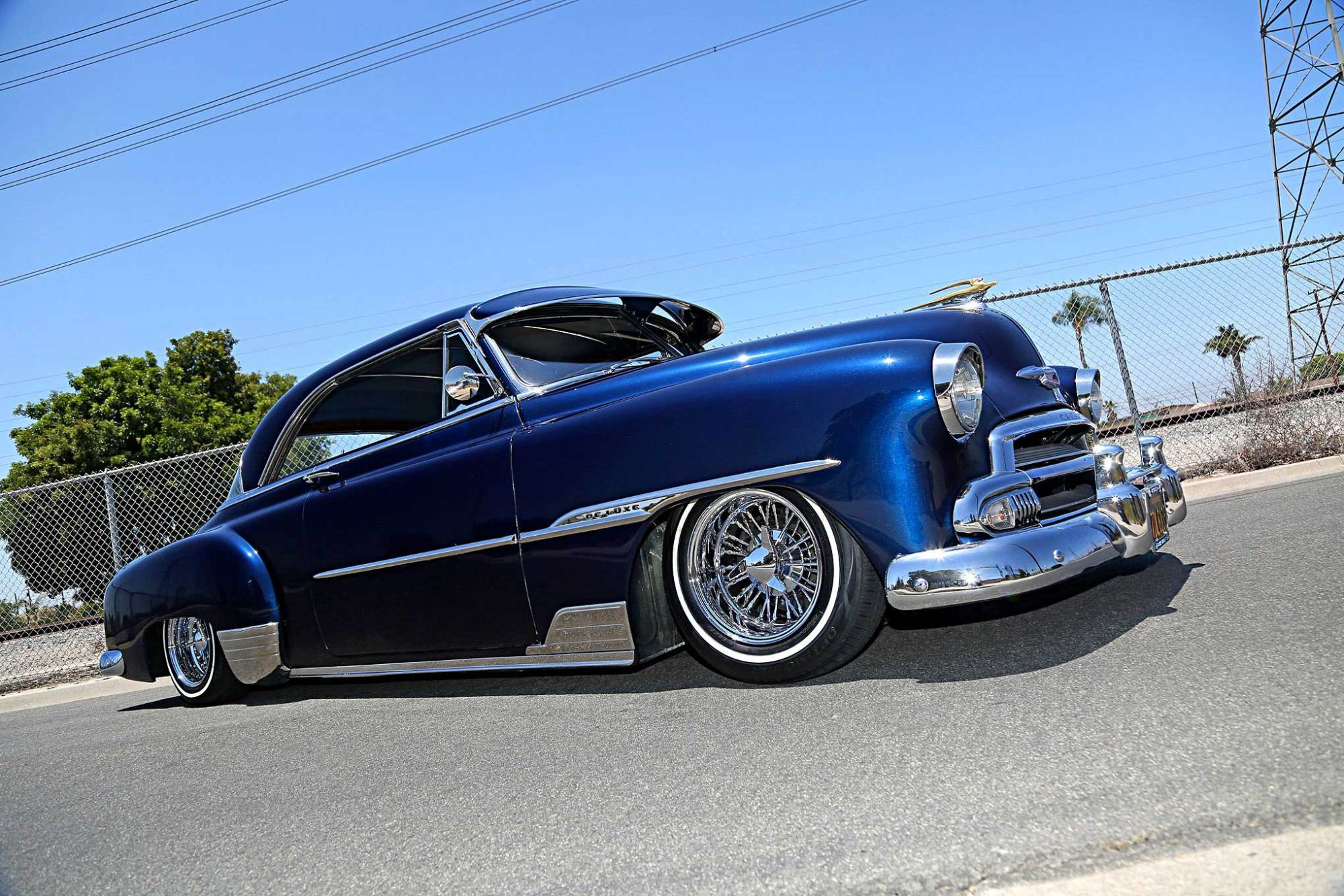 hight resolution of 1951 chevrolet deluxe zeus wire wheels lowrider