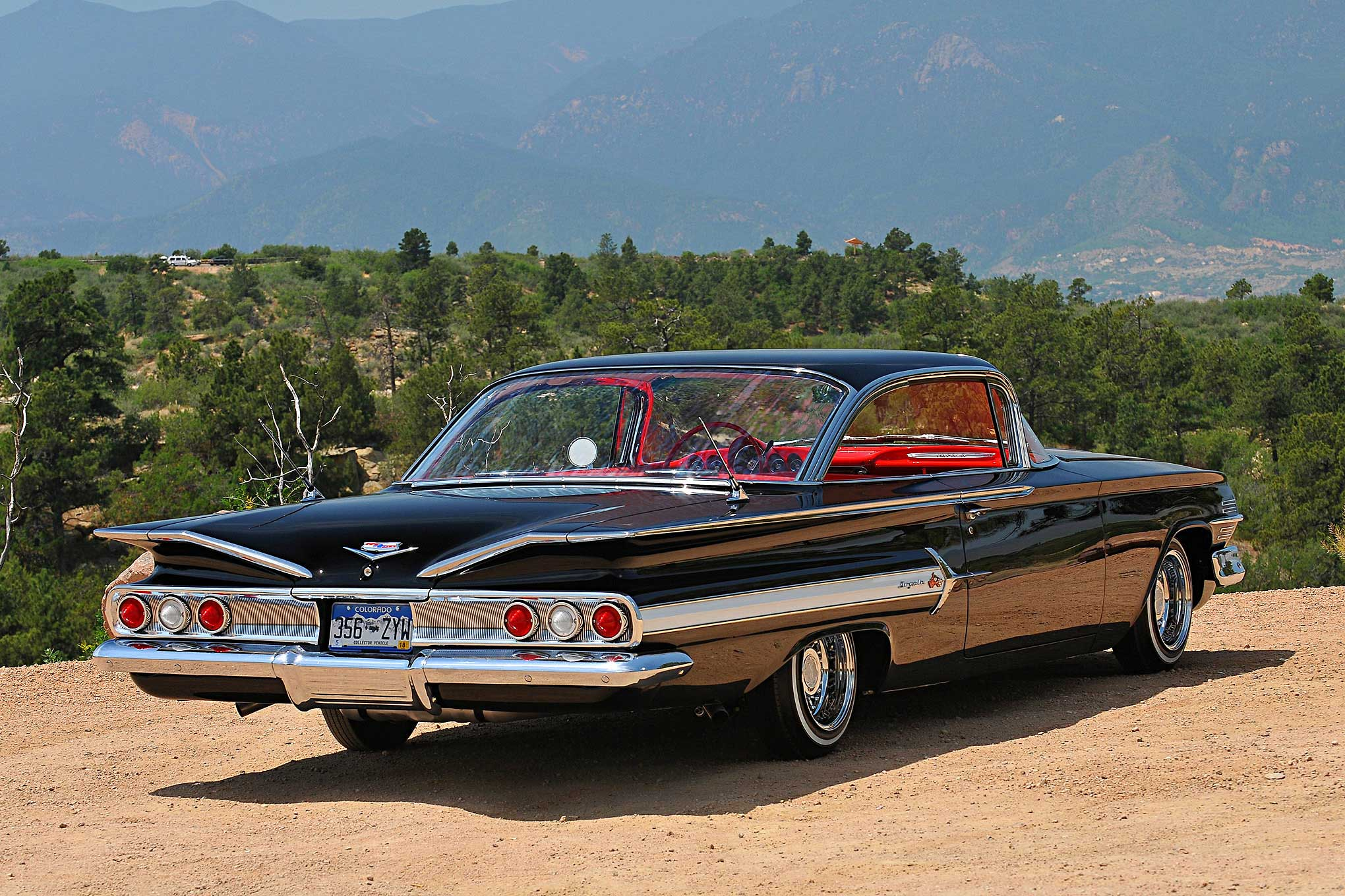 1960 Chevy Impala Rear View