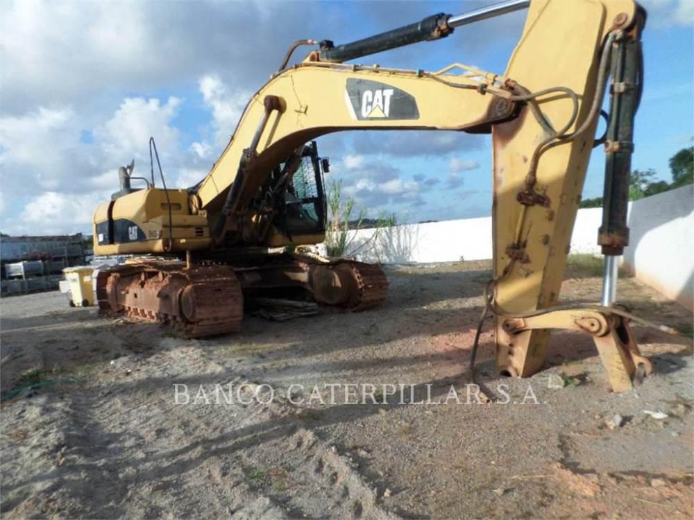 medium resolution of caterpillar 330d crawler excavators construction