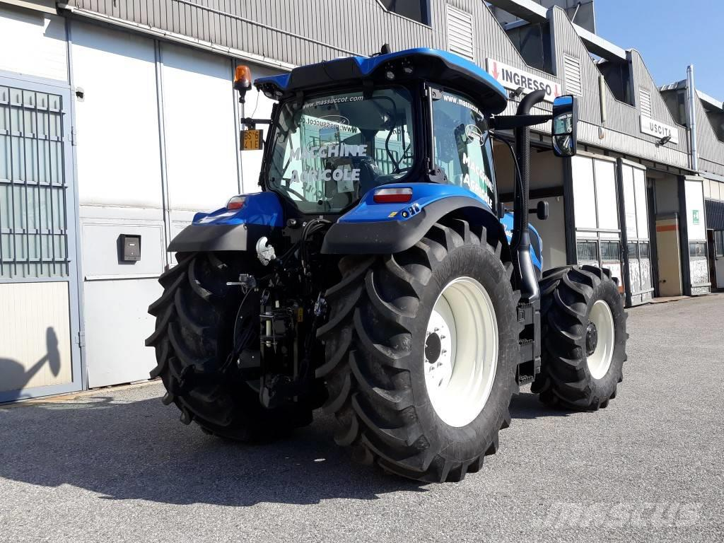 Used New Holland T 6 165 Tractors Year For Sale