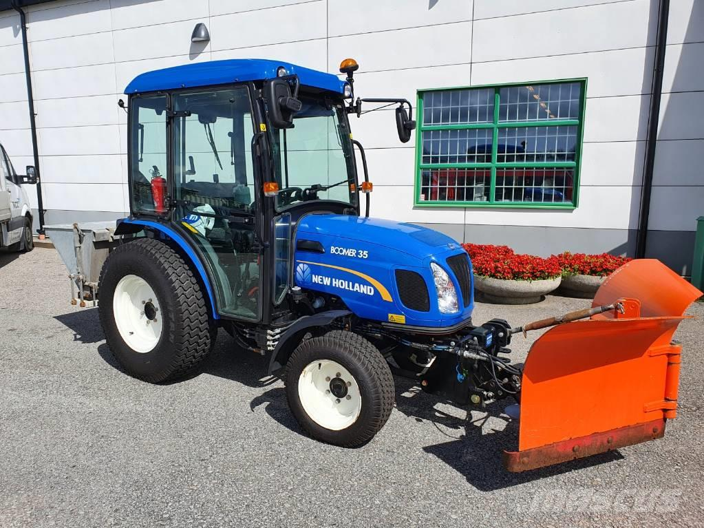 Workmaster tractors are an ideal compact farm tractor, landscape tractor or compact tractor. New Holland Boomer 35 2014 Svedala Sweden Used Compact Tractors Mascus Uk