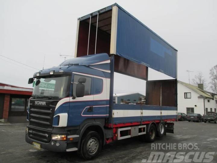 Scania R 500 2008 Curtainsider Trucks