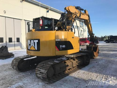 small resolution of caterpillar 314d lcr 2011 crawler excavators