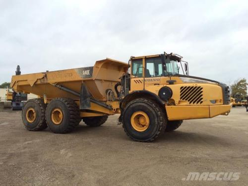 small resolution of volvo a40e 2008 articulated dump trucks adts