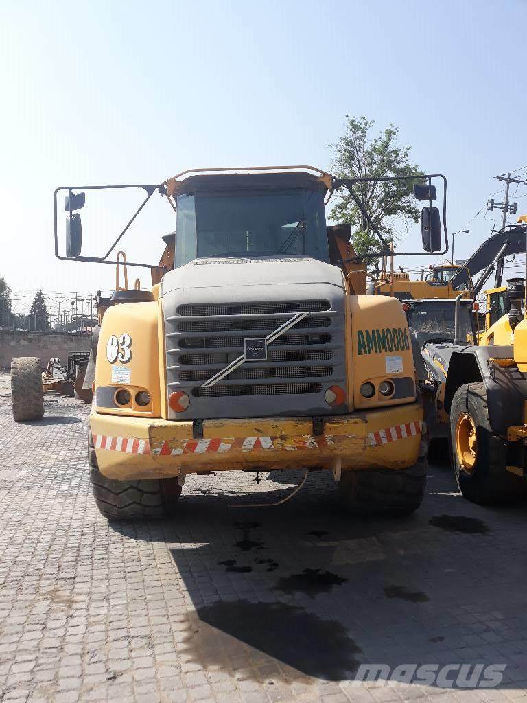 hight resolution of volvo a 40 d 2003 articulated dump trucks adts