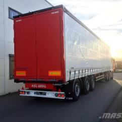 Semi Trailers For Sale In Germany Light Switch Wiring Diagrams Uk Used Kel Berg D100v 18 Tonns Kingpin 9 Gulv