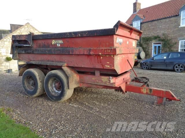dump trailers for sale 13 pin trailer wiring diagram uk used ruscon general purpose price us 9 712 utility