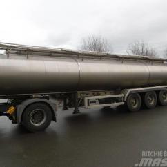 Semi Trailers For Sale In Germany 2002 Mercury Sable Wiring Diagram Used Magyar Lebensmitteltankauflieger Nr 3986 Tanker