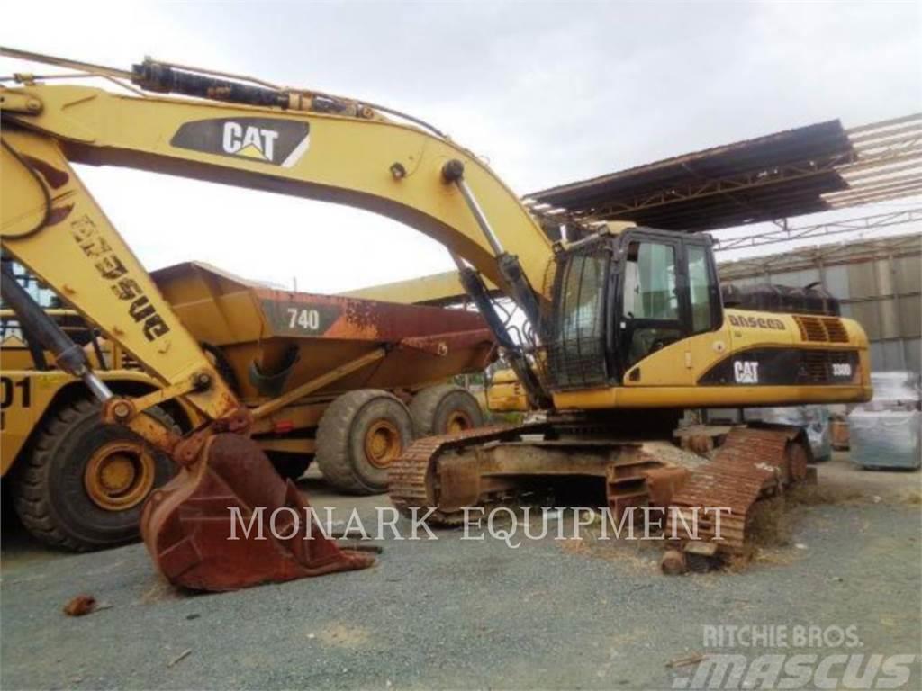 hight resolution of caterpillar 330d 2007 crawler excavators