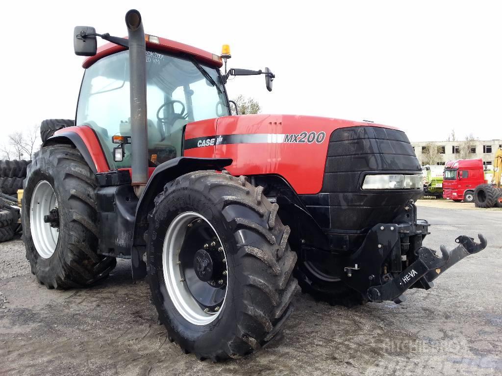 Used Case IH MX 200 tractors Year: 2002 Price: US$ 40,555