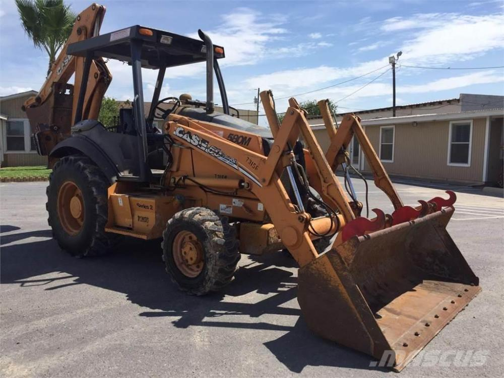 medium resolution of case 580m ii 2007 backhoe loaders