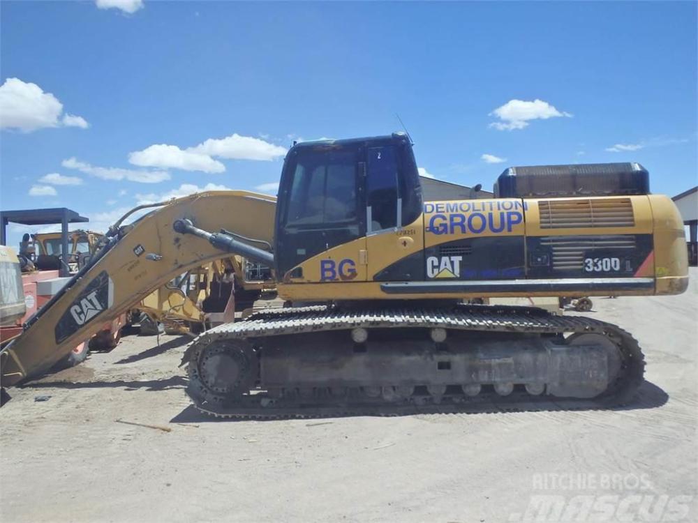 medium resolution of caterpillar 330d 2008 crawler excavators