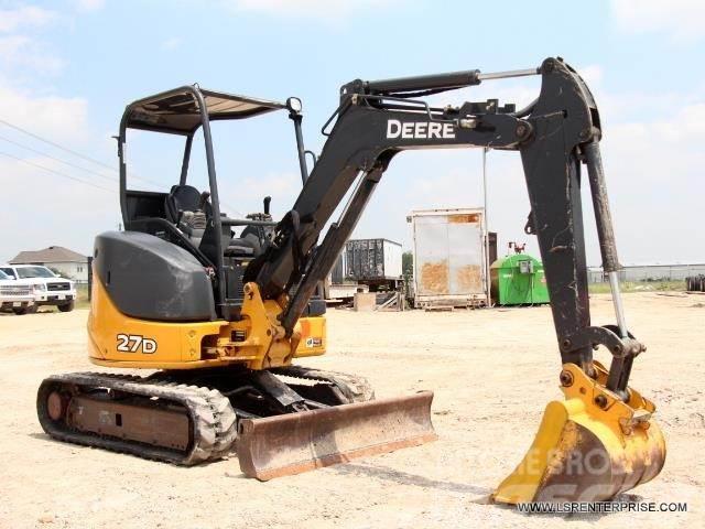 John Deere 27D For Sale Justin, Texas Price: $25,500, Year