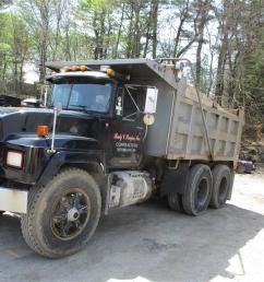 mack rd688sx 1995 dump trucks  [ 1024 x 768 Pixel ]
