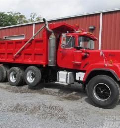 mack superliner rw712ls 1988 tipper trucks  [ 1024 x 768 Pixel ]