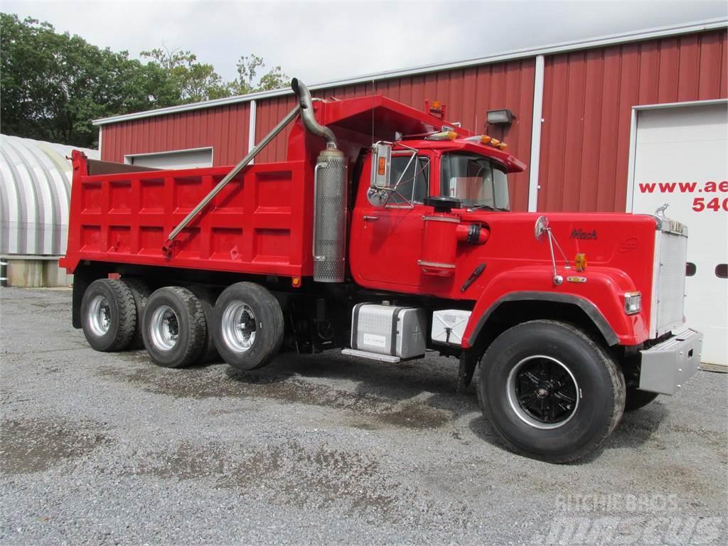 hight resolution of mack superliner rw712ls 1988 tipper trucks