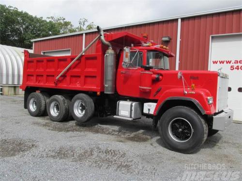 small resolution of mack superliner rw712ls 1988 tipper trucks