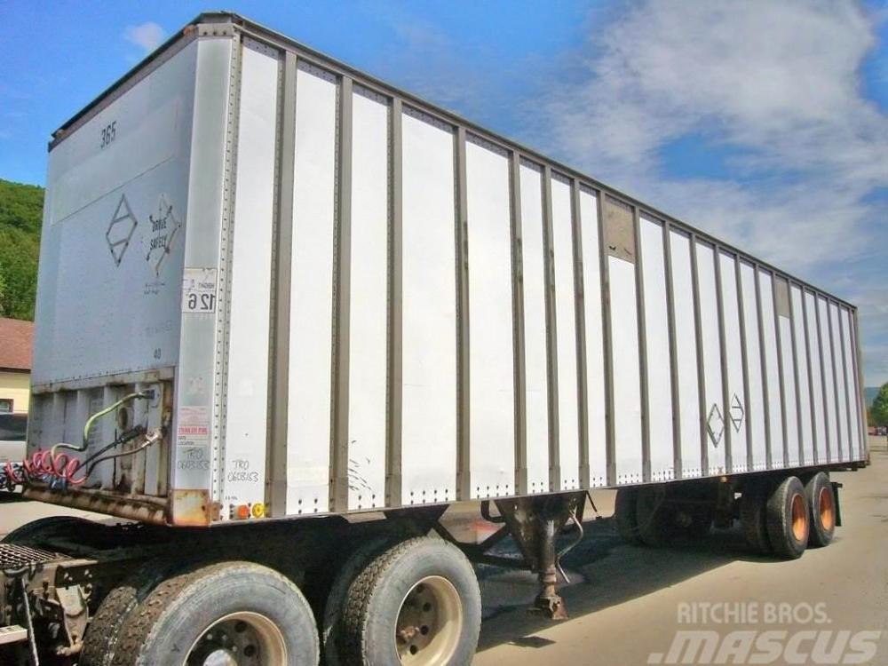 medium resolution of vanco t a dry van 1983 box body trailers