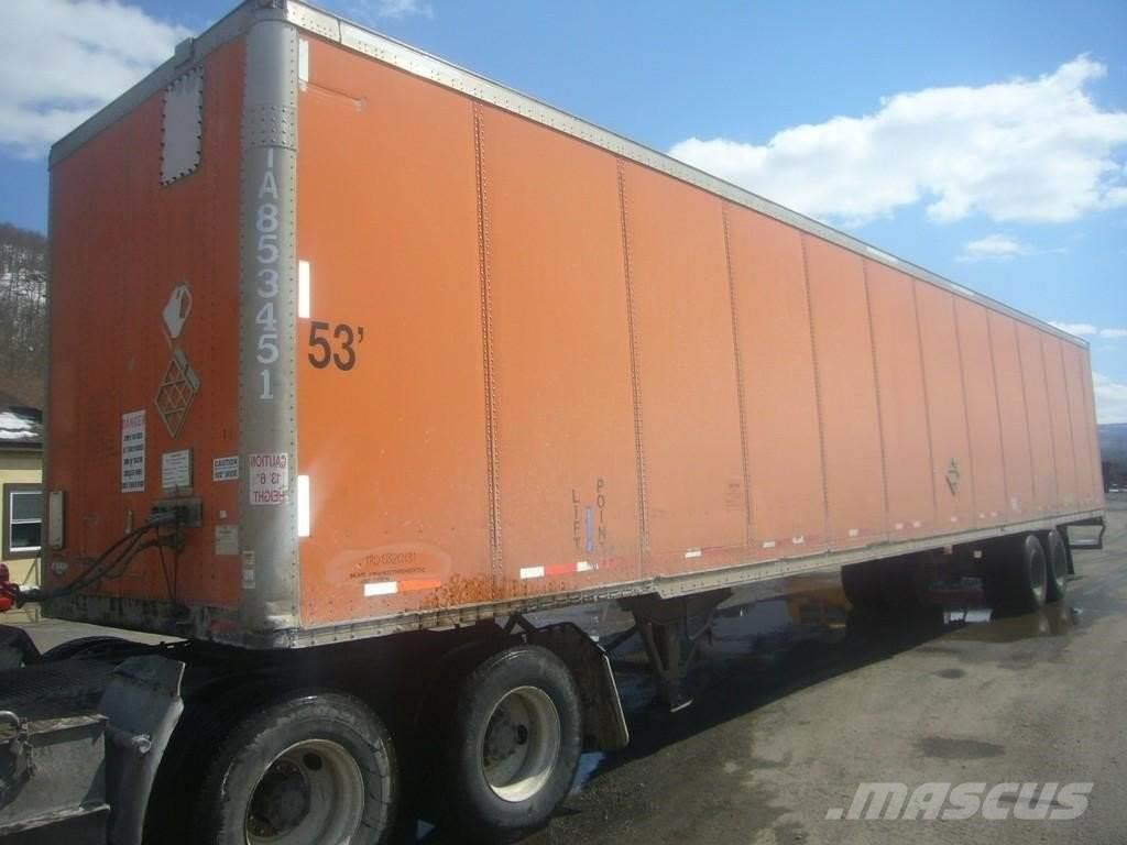 hight resolution of wabash 2001 wabash 53 tandem axle dry van trailer 2001 box trailers