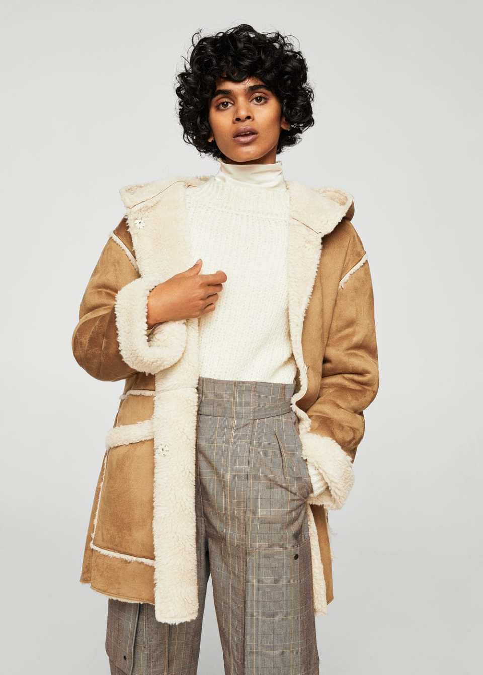 Manteau double face | MANGO