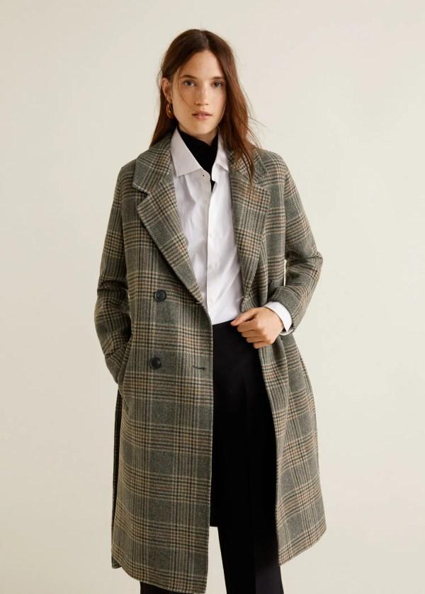 Wollen handmade jas
