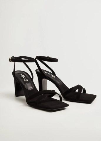 Strappy heeled sandals - Medium plane