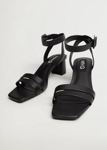 Heel strips sandals - Medium plane