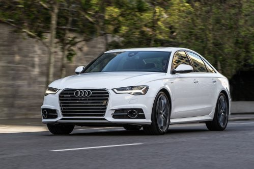 small resolution of 2016 audi a6 3 0t front three quarter in motion 02