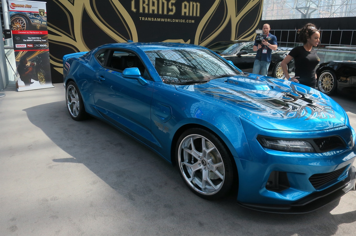 1000 HP 2017 Trans Am 455 Super Duty Bows In New York