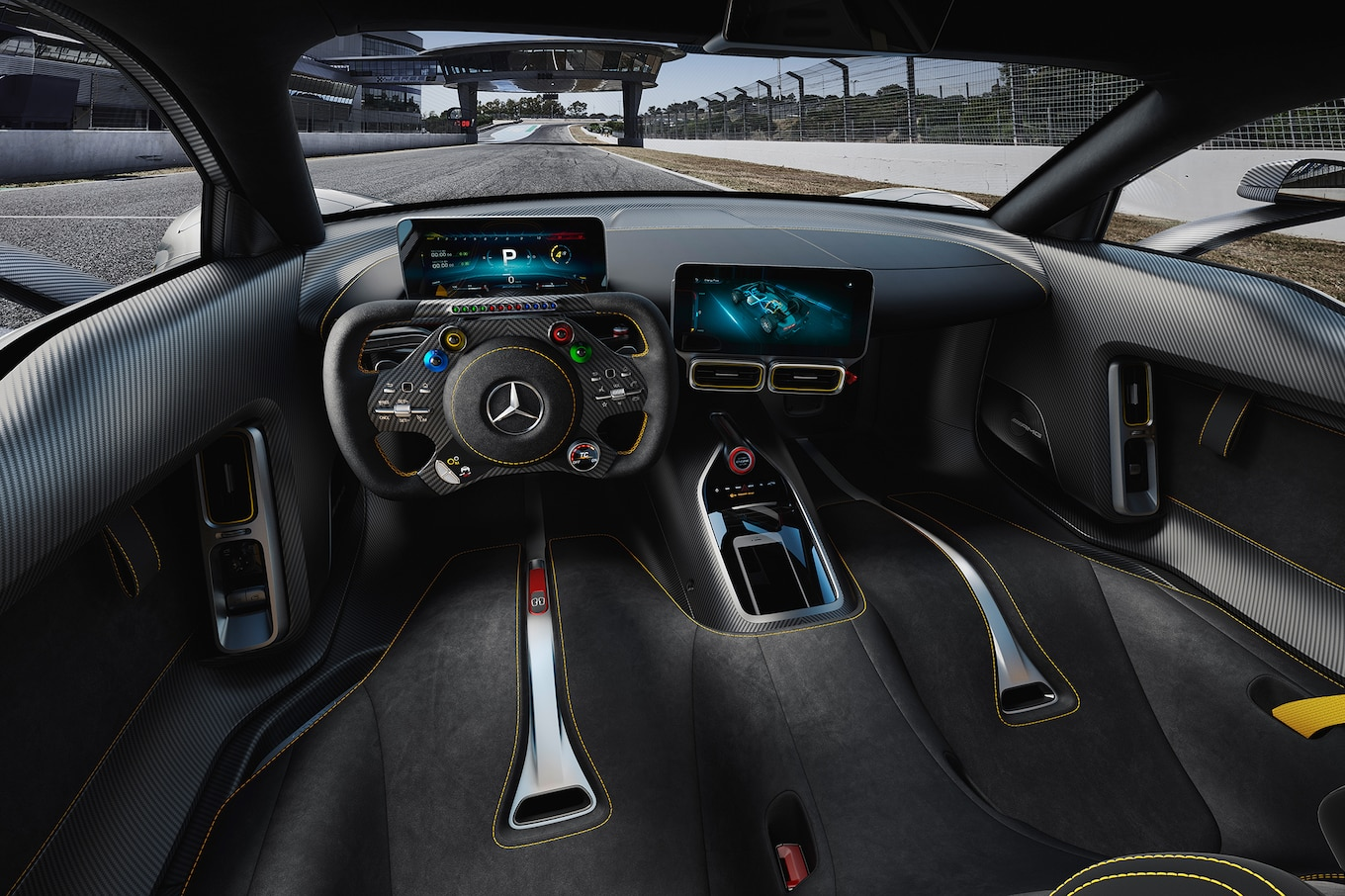 Premier coup dil  MercedesAMG Project ONE  Motor Trend Canada