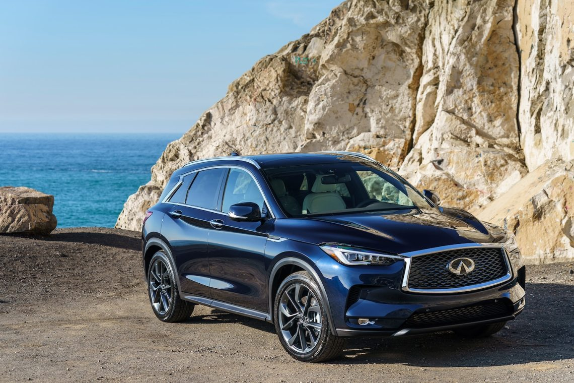 2019 infiniti qx50 first drive: back on target - motor trend canada