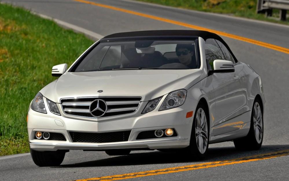 medium resolution of 2011 mercedes benz e350 cabriolet