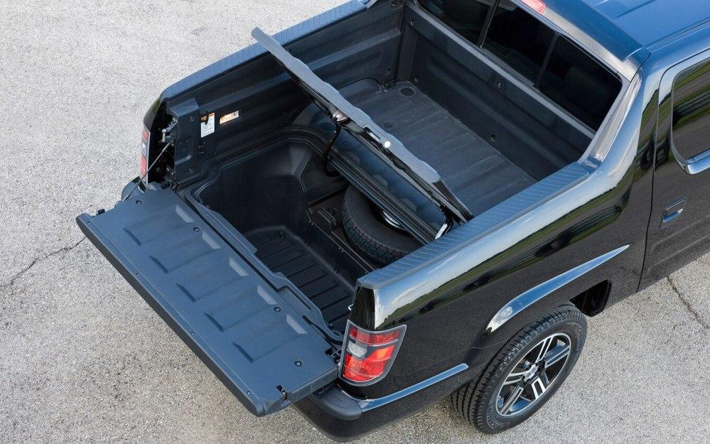 medium resolution of 2012 honda ridgeline bed storage