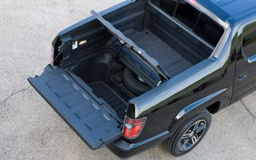 small resolution of 2012 honda ridgeline bed storage
