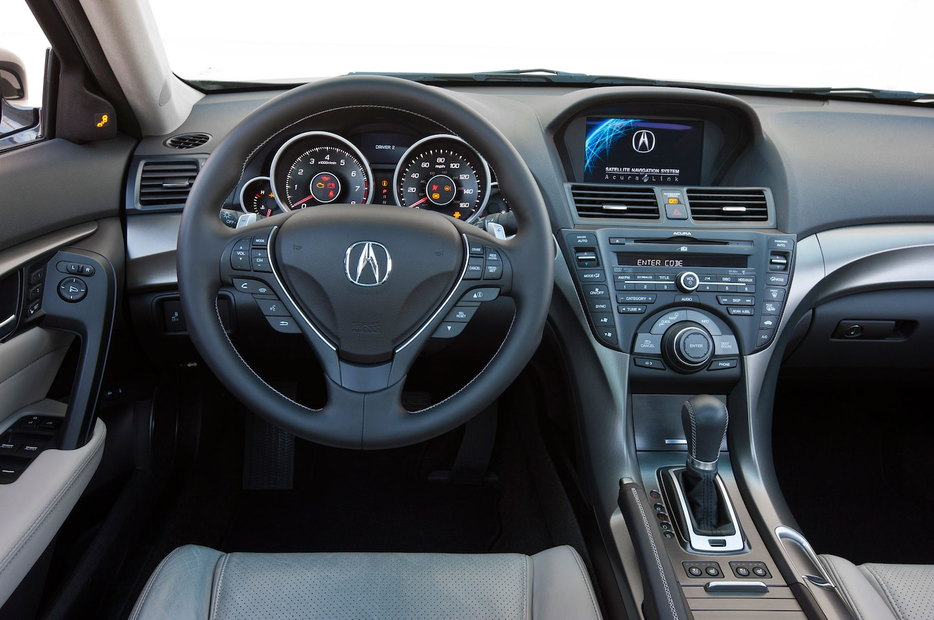 hight resolution of 2013 acura tl sh awd drivers side dashboard