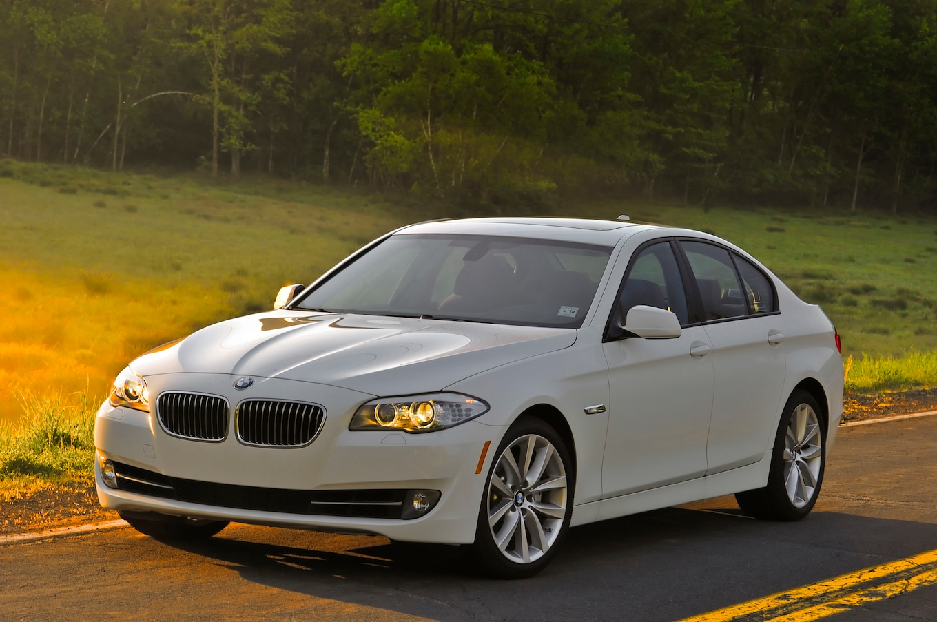 2013 Bmw 5series Reviews And Rating  Motor Trend