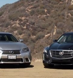 2014 cadillac cts vsport and 2013 lexus gs 350 f sport 57 222 [ 1360 x 903 Pixel ]