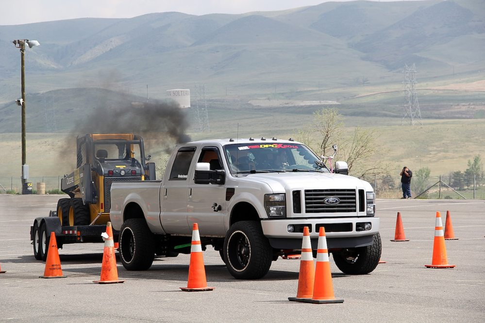 medium resolution of 2014 diesel power challenge trailer obstacle course 50 196 2008 ford f 250