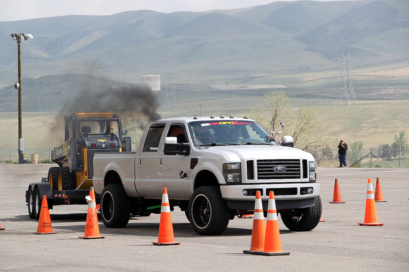 hight resolution of 2014 diesel power challenge trailer obstacle course 50 196 2008 ford f 250