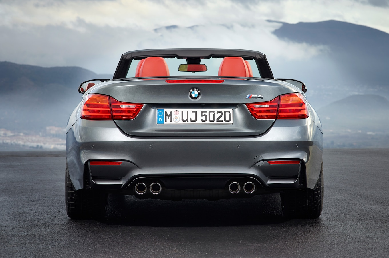 hight resolution of 2015 bmw m4 convertible rear view