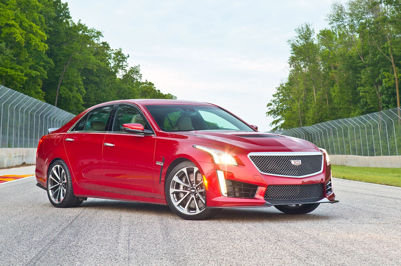 hight resolution of cadillac cts v