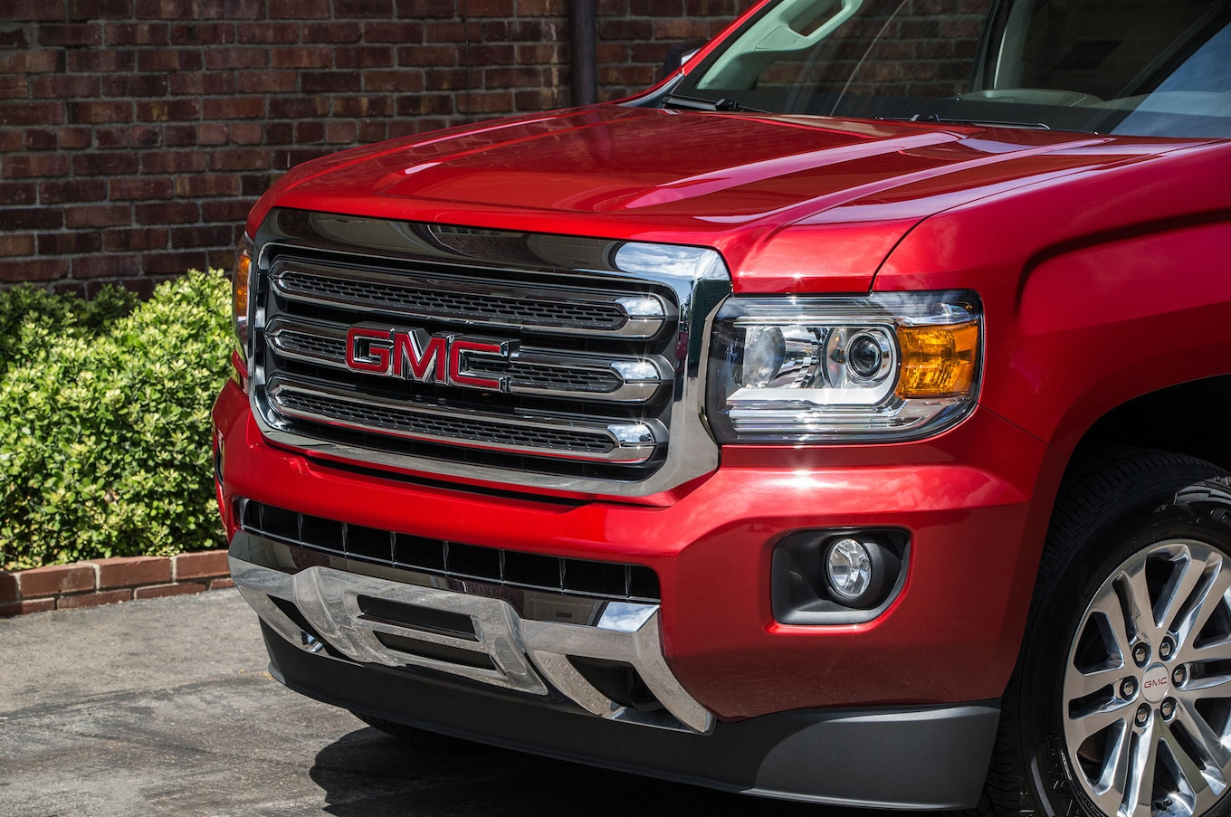 hight resolution of 2016 gmc canyon sle front end
