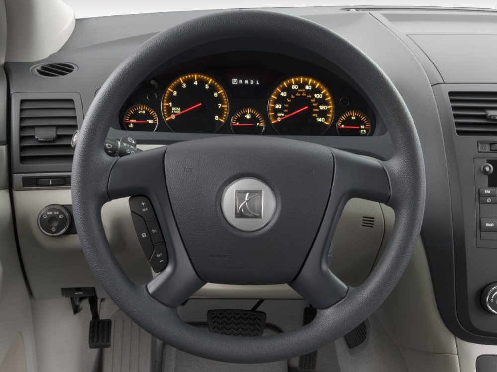 medium resolution of 2008 saturn outlook xe fwd suv steering wheel 2008 saturn outlook reviews and rating motor trend