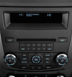 2010 ford fusion audio system [ 1360 x 903 Pixel ]