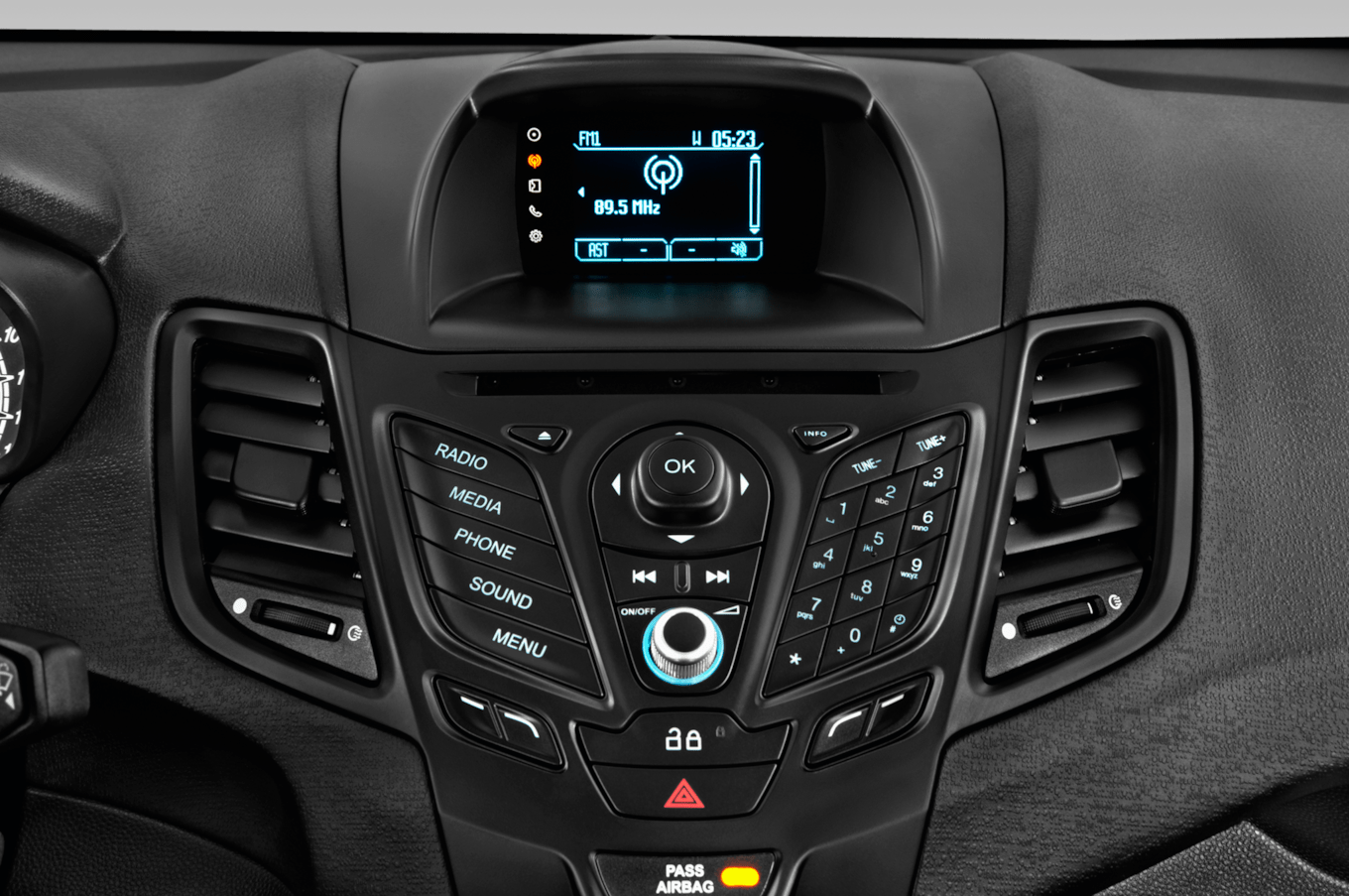 Ford Fiesta St Stereo