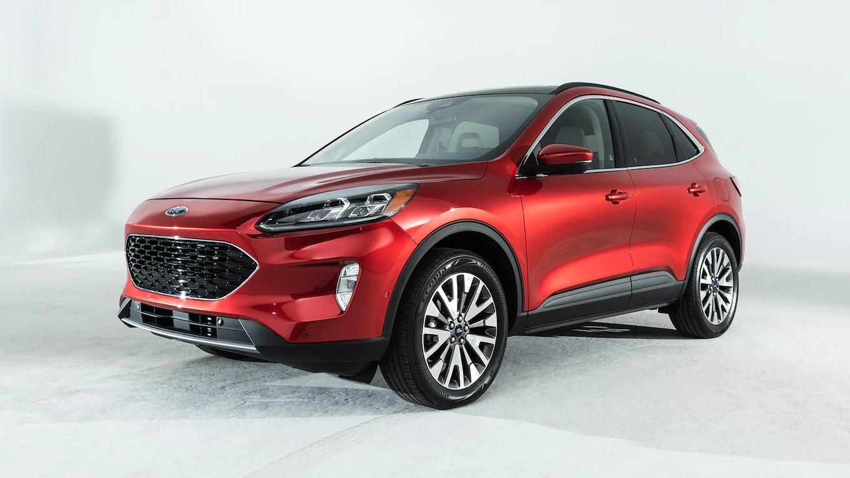 2020 Ford Escape Reviews  Research Escape Prices  Specs  MotorTrend