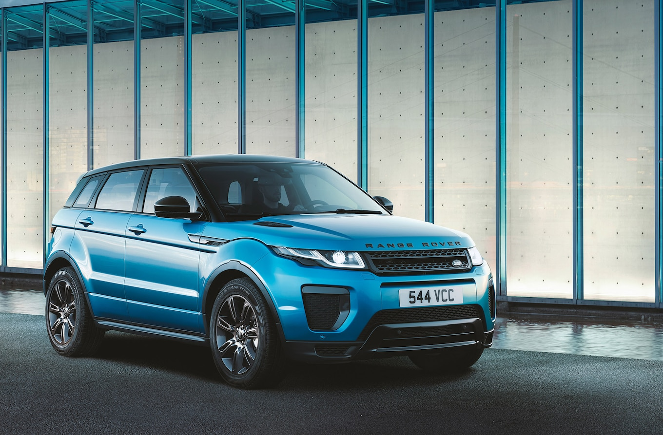 Range Rover Evoque Landmark Edition Gets Special Shade of Blue
