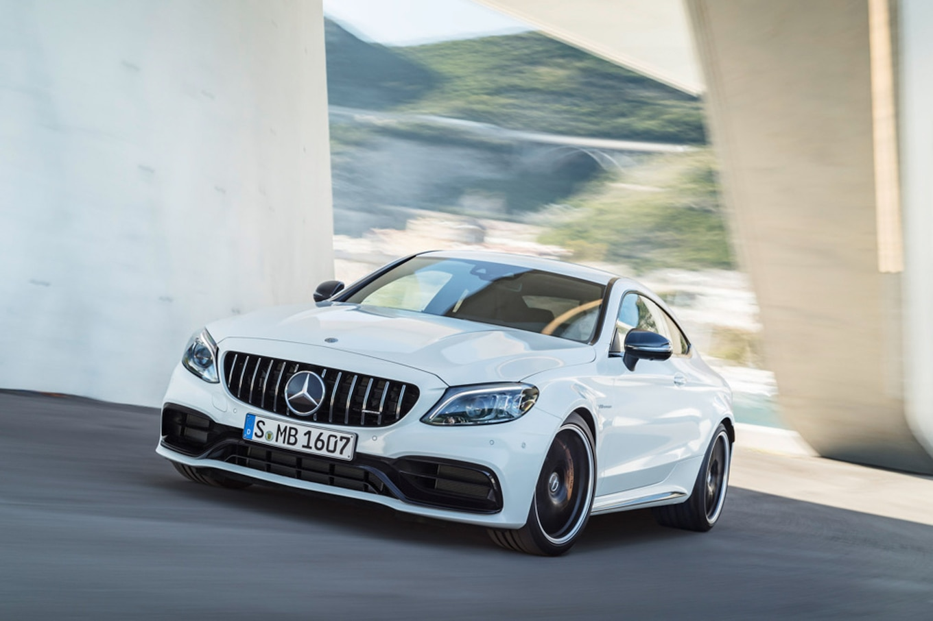 hight resolution of the 2019 mercedes amg c 63 gets a new quicker shifting transmission