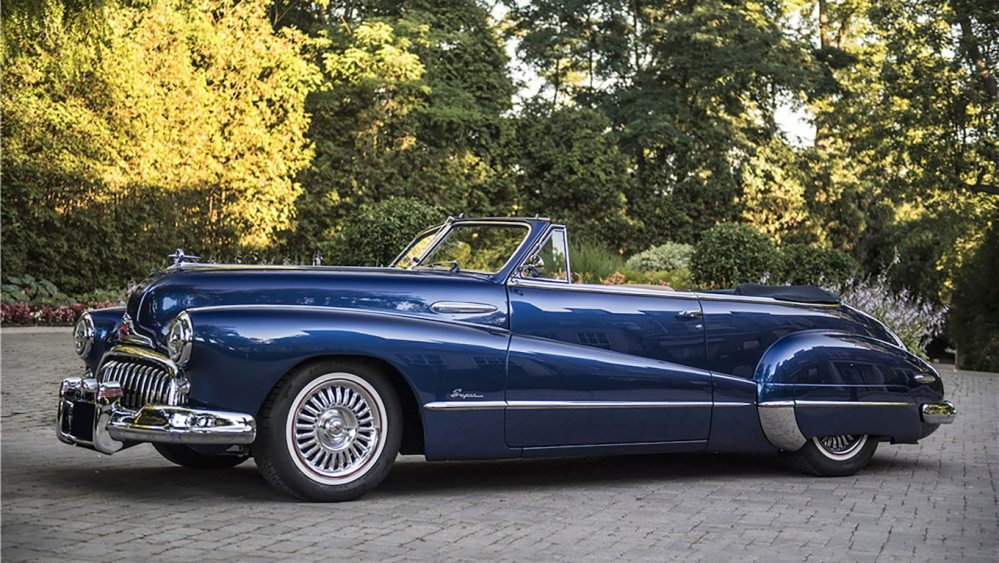medium resolution of the most expensive car sold at barrett jackson palm beach was a buick