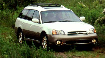 hight resolution of exclusive first drive 2001 subaru outback h63 0